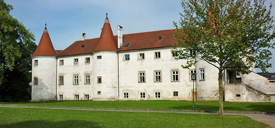 das Schloss Dobersberg