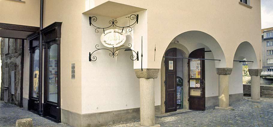 Eingang zum jüdischen Viertel in Trebitsch